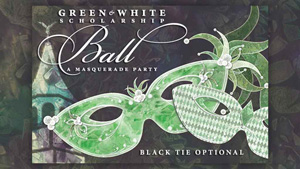 Green and White Scholarship Ball